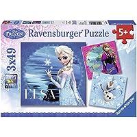 Ravensburger - 09269 - Puzzle Enfant Classique - La Reine des Neiges - 3 x 49 Pièces