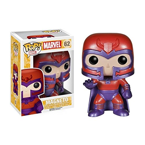 Funko Pop Marvel: X-Men - Magneto Vinyl Figure Item No. 4469 + Protective Case