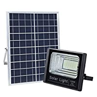 100W White LED Solar Flood Light Waterproof Outdoor for Gardens Lawn Street