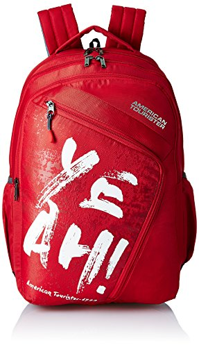 American Tourister 27 Ltrs Red Casual Backpack (AMT VOLT BACKPACK 01 - RED)