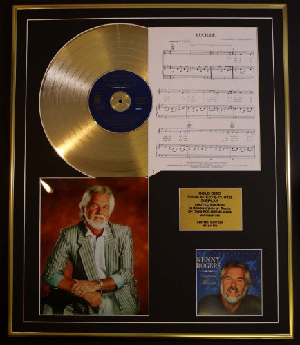 kenny-rogers-cd-gold-disc-song-sheet-photo-display-ltd-edition-coa-album-daytimes-friends-song-sheet