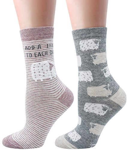 LITTONE® - 2 Pares - Calcetines - para Mujer (LTNWMSOCK-005NS012)
