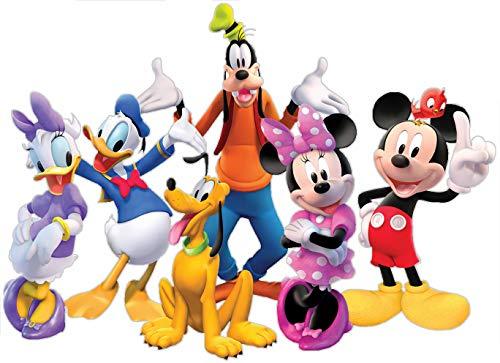 Vinilo Decorativo Infantil de Pared Disney Mickey y Sus Amigos - Autoadhesivo de fácil colocación...