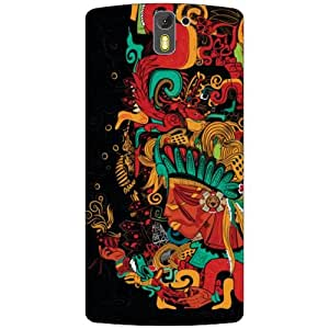 Back Cover For Oneplus One A0001 (Printland)