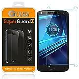 SuperGuardZ [2er Pack] für Motorola Droid Turbo 2 gehärtetem Glas Bildschirmschutzfolie, 9H, 0,3mm, 2.5D Ro& Edge, Kratzfest, blasenfrei