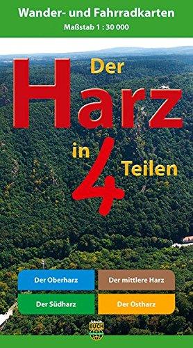 Der Harz in 4 Teilen: Oberharz • Mittlerer -
