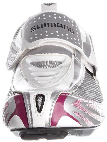 Shimano Wt63, Scarpe sportive, Donna Bianco (Bianco/Viola)