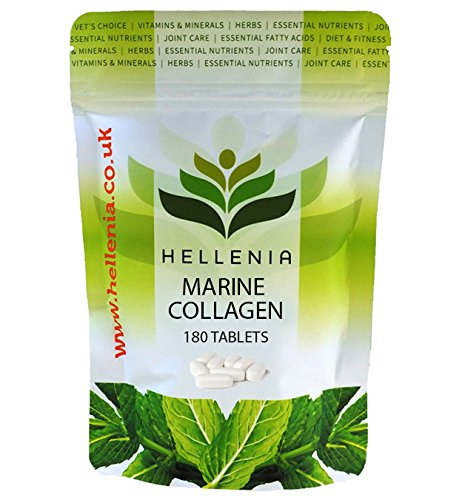 Kollagen (Meerskollagen) Marine Collagen 500mg - 180 Tabletten