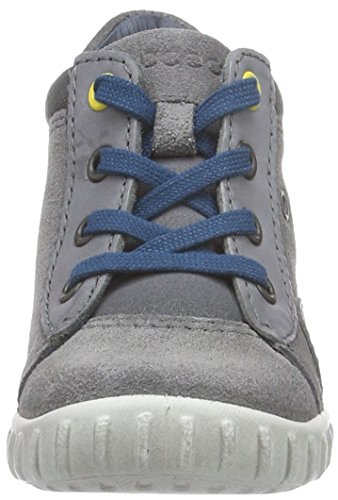Ecco Ecco Mimic, Chaussures Bébé marche Bébé garçon Gris (titanium/titanium)