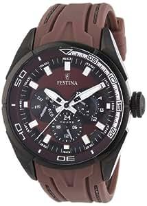 Festina Herren-Armbanduhr XL Sport Multifunktion Analog Quarz Kautschuk F16610/2