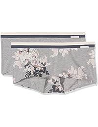 Skiny Sporty Cotton Mix Pant Dp, Boxer Femme (lot de 2)