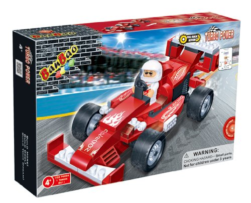 BanBao-Building-Blocks-Bricks-Construction-Pull-Back-Dragon-Racing-Car-Number-One-Toys-Games-Build-Your-Own-Children-Boys-Boy-Kids-Child-Fun-Gift-Present-for-Stocking-Fillers-Xmas-Christmas-Easter-Bir