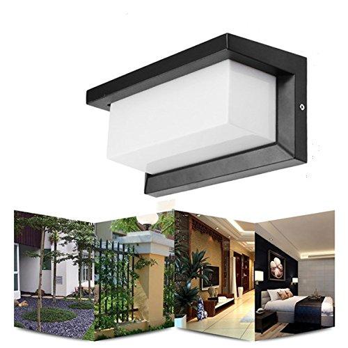 SUNXK 10W calienta la luz al aire libre AC90-265V del pasillo del...