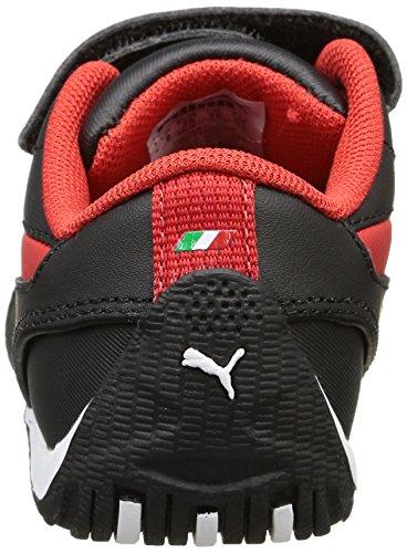 Puma Drift Cat 5 Scuderia Ferrari Kinder Turnschuhe Sportschuhe Fashion Sneaker Schwarz