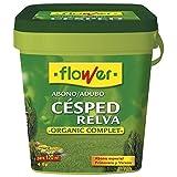 Flower 10522 - abono césped Organic complet-n (l.c.), 4 Kg