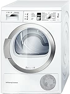 Bosch Avantixx WTW86392 freestanding Front-load A++ White washer dryer - washer dryers (Front-load, Freestanding, White, Right, Rotary, Touch, LCD)
