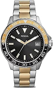FOSSIL Men's BANNON 3H STAINLESS STEEL WATCH - BQ