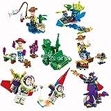 BELA toy story figures,toystory, set of all 8 minifigures brand new 2,woody,buzz lightyear,aliens,zurg,jessie etc