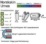 L Mumien Schlafsack Norskskin Umea 4 Jahreszeiten bis -23 Grad (Links) -
