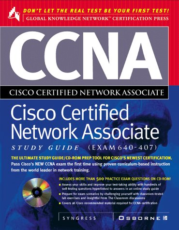 CCNA Study Guide: Exam 640-407 (Cisco technical expert) por Syngress Media  Inc.
