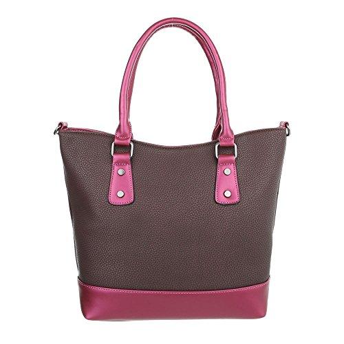 Taschen Handtasche Modell Nr 3 Braun