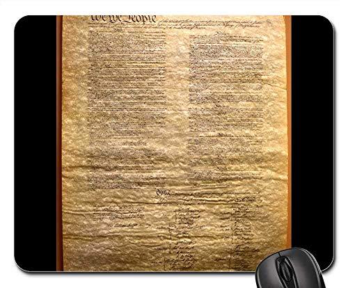 Preisvergleich Produktbild Mouse Pads - Old Transcript Constitution Vintage President