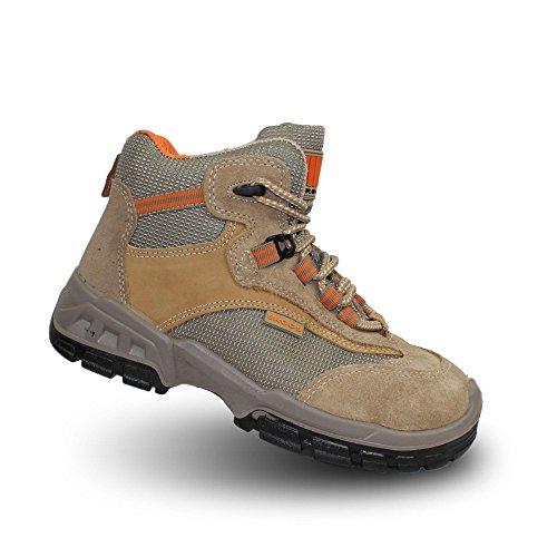 Ergos majorque businessschuhe 2 chaussures de sécurité s1P sRC chaussures marron Marron - Marron