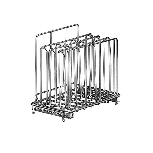 LIPAVI Sous Vide Rack L5 - Rejilla profesional para cocinar al vacío | Accesorios para cocedor de acero inoxidable 316L | plegable y ajustable 16,3 x 10,2 x 16,7 cm | adaptable para baño de agua LIPAVI