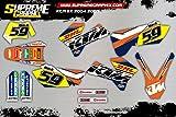 Kit Adhesivos KTM SX 2004 2007 ADESIVI Stickers