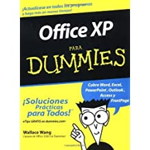 Office XP Para Dummies (Spanish Edition) by Wang, Wallace (2003) Paperback