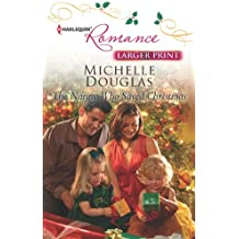 The Nanny Who Saved Christmas (Harlequin Romance Large Print)
