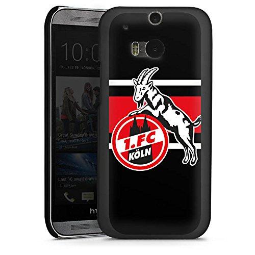 DeinDesign HTC One M8s Hülle Case Handyhülle 1. FC Köln Fanartikel Streifen