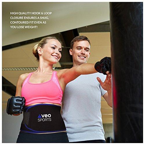 VeoSports Bauchweggürtel Fitness für Männer und Frauen - 5
