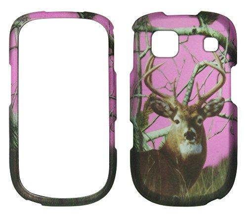 Handys Att Lg (2D Pink Camo Buck Deer Realtree ZTE Z431(AT & T GO Telefon) Schutzhülle Handy Snap auf Cover Case Protector Blenden)