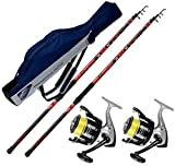 Best Surf Canne - Evo fishing Kit pesca Surf 2 canne VIGOR Review
