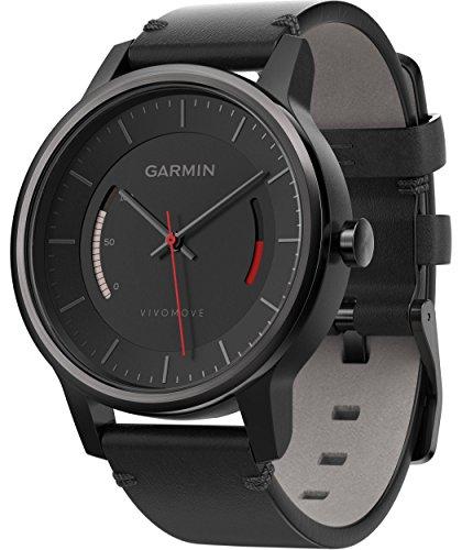 Garmin Vívomove Classic Reloj Analógico con Monitor de Actividad, Negro, Talla Unica