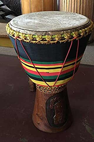 African Djembe Drum Journal: 150 page lined notebook/diary