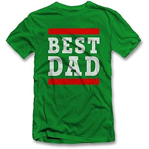Best Dad T-Shirt S-XXL 12 Colori /