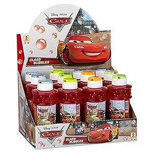 ColorBaby - Caja pomperos Cars, 300 ml, con 12 Unidades de (24228)
