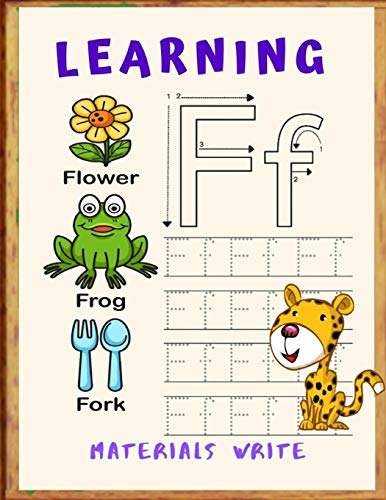 Learning Materials Write: Write-and-Learn Sight Word Practice Pages Activity Pages That Help Kids Recognize, Write, and Really LEARN the Top High-Frequency Words That are Key to   Reading Success. (Learning Cards Activity Resources)