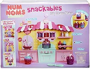 MGA Entertainment Num Noms Snackables Silly Shakes Maker Playset Cocina y Comida Estuche de Juego - Juegos de rol (Cocina y Comida, Estuche de Juego, 3 año(s), Niño, Chica