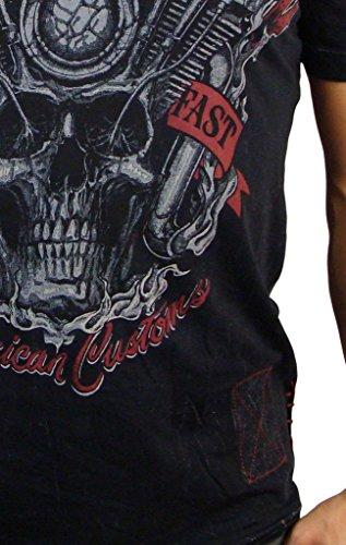 Affliction Overheat T-Shirt Black