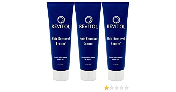 Revitol Hair Removal Cream 3 Bottles Amazon Co Uk Health Personal Care