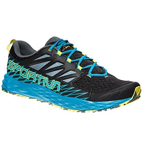 La Sportiva Lycan, Zapatillas de Trail Running para Hombre, (Black/Tropical Blue 000),...