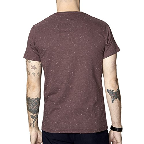 SUIT Herren T-Shirt Halifax Rot (Bordeaux 1417)