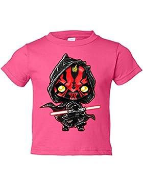 Camiseta niño Star Wars Darth Maul Kawaii
