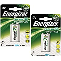2x pile Energizer Rechargeable Advanced Taille 9V NiMH 175mAh Hr22.5V Ref 633003