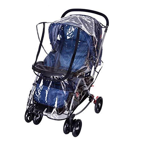 L&Z Universal Kinderwagen Regenschutz Regencover Regenhülle für Kinderwagen Buggy Regen-Abdeckung...