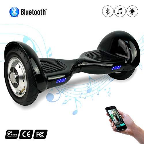 Mega Motion Hoverboard Elektro Scooter Elektroroller Skateboards Bluetooth mit Lautsprecher