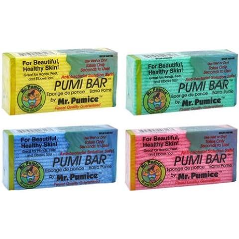 LOT of 6 Mr. Pumice Bar Healthy Skin Callus Feet